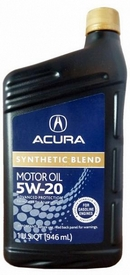 Объем 0,946л. ACURA Synthetic Blend 5W-20 SN - 08798-9033