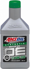 Объем 0,946л. AMSOIL OE Synthetic Motor Oil 0W-20 - OEZQT