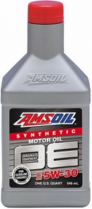 Объем 0,946л. AMSOIL OE Synthetic Motor Oil 5W-30 - OEFQT