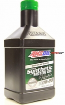 Объем 0,946л. AMSOIL Signature Series Synthetic Motor Oil 0W-20 - ASMQT