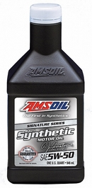 Объем 0,946л. AMSOIL Signature Series Synthetic Motor Oil 5W-50 - AMRQT