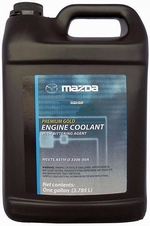 Антифриз готовый желтый MAZDA Premium Gold Engine Coolant with Bittering Agent - 0000-77-507E-03 Объем
