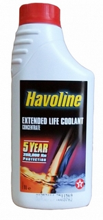 Антифриз TEXACO Havoline Xtended Life Cool Concentrate - 803243NJE Объем 1л.