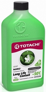 Антифриз TOTACHI Niro LLC Green -50 - 4589904924149 Объем 1л.