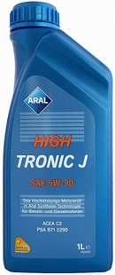 Объем 1л. ARAL HighTronic J 5W-30 - 151CED