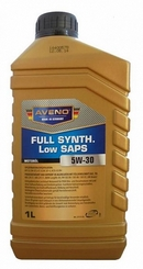 Объем 1л. AVENO FS Low SAPS 5W-30 - 3011502-001
