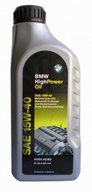 Объем 1л. BMW High Power Oil 15W-40 - 81229407414