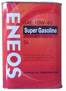 Объем 0,946л. ENEOS Super Gasoline SL Semi-Synthetic 10W-40 - oil1354