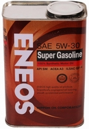 Объем 0,946л. ENEOS Super Gasoline SM 5W-30 - oil4073