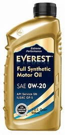 Объем 1л. EVEREST Full Synthetic 0W-20 - FP02000EV01LFS