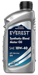 Объем 1л. EVEREST Synthetic Blend 10W-40 - FP10400EV01LSB