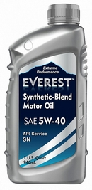 Объем 1л. EVEREST Synthetic Blend 5W-40 - FP54000EV01LSB