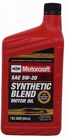 Объем 0,946л. FORD Motorcraft Premium Synthetic Blend 5W-20 - XO-5W20-QSP