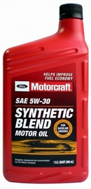 Объем 0,946л. FORD Motorcraft Premium Synthetic Blend 5W-30 - XO-5W30-QSP