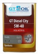 Объем 4л. GT-OIL Diesel City CI-4/SL 5W-40 - 8809059408001