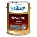 Объем 20л. GT-OIL GT Power Synt 10W-40 - 8809059408032