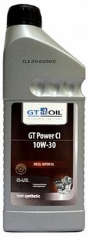 Объем 1л. GT-OIL Power CI 10W-30 - 8809059407899