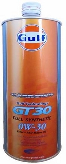 Объем 1л. GULF Arrow GT 30 SAE 0W-30 - 4932492112014