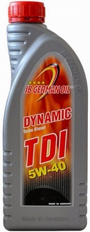 Объем 1л. JB GERMAN OIL Dynamic TDI 5W-40 - 4027311001317