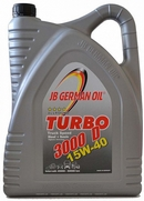 Объем 5л. JB GERMAN OIL Turbo 3000D Truck Speed 15W-40 - 4027311000266