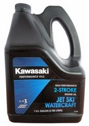 Объем 3,785л. KAWASAKI Performance Oils 2-Stroke Engine Oil Jet Ski Watercraft  High-Performance Oil - W61020-305