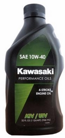 Объем 0,946л. KAWASAKI Performance Oils 4-Stroke Engine Oil ATV/UTV 10W-40 - K61021-204A