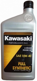 Объем 0,946л. KAWASAKI Performance Oils 4-Stroke Engine Oil Full Synthetic 10W-40 - K61021-207A