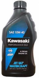 Объем 0,946л. KAWASAKI Performance Oils 4-Stroke Engine Oil Jet Ski Watercraft 10W-40 - W61020-203A