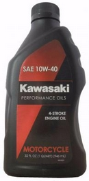Объем 0,946л. KAWASAKI Performance Oils 4-Stroke Engine Oil Motocycle 10W-40 - K61021-202A