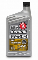 Объем 0,946л. KENDALL GT-1 Full Synthetic Motor Oil With Liquid Titanium 5W-20 - 075731072282