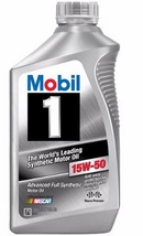 Объем 0,946л. MOBIL 1 Advaced Full Synthetic 15W-50 - 103537
