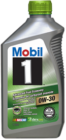Объем 0,946л. MOBIL 1 Advanced Fuel Economy 0W-30 - 112746