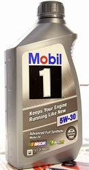 Объем 0,946л. MOBIL 1 Advanced Full Synthetic 5W-30 US - 102991