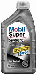 Объем 0,946л. MOBIL Super Synthetic 5W-30 - 113938