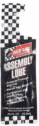 Объем 0,02л. Монтажная смазка RED LINE Assembly Lube - 80326