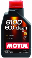 Объем 1л. MOTUL 8100 Eco-clean 5W-30 - 101542