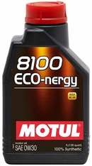 Объем 1л. MOTUL 8100 Eco-nergy 0W-30 - 102793