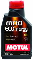 Объем 1л. MOTUL 8100 Eco-nergy 5W-30 - 102782