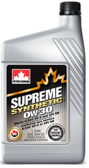 Объем 1л. PETRO-CANADA Supreme Synthetic 0W-30 - MOSYN03C12