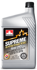 Объем 1л. PETRO-CANADA Supreme Synthetic 5W-20 - MOSYN52C12