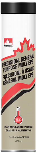 Объем 0,4кг Пластичная смазка PETRO-CANADA Precision General Purpose Moly EP2 - PGPM2C30