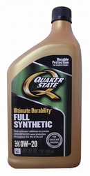 Объем 0,946л. QUAKER STATE Ultimate Durability 0W-20 - 550036735