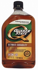 Объем 0,946л. QUAKER STATE Ultimate Durability 5W-20 - 550024113