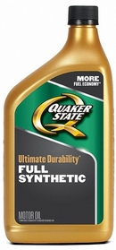 Объем 0,946л. QUAKER STATE Ultimate Durability 5W-30 - 550036717