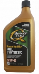 Объем 0,946л. QUAKER STATE Ultimate Durability 5W-50 - 550036718