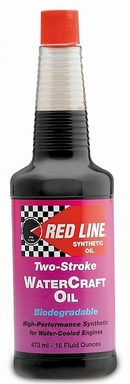 Объем 0,473л. REDLINE OIL Two-Stroke Watercraft Injection Oil - 40703