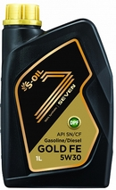 Объем 1л. S-OIL Seven Gold FE 5W-30 - GOLD_FE_5W30_01