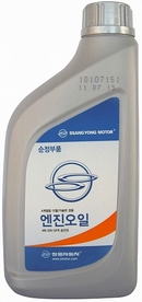 Объем 1л. SSANGYONG All Seasons Diesel/Gasoline Engine Oil 10W-40 MB229.1 - 0000000399