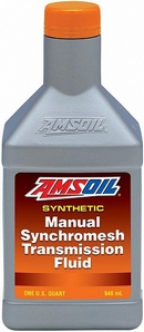 Объем 0,946л. Трансмиссионное масло AMSOIL Synthetic Manual Synchromesh Transmission Fluid - MTFQT